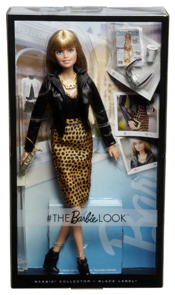 Barbie Collector Black Label The Barbie Look Urban